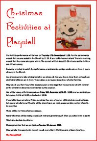 Playwell Christmas 2015
