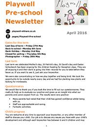 NEWSLETTER April 2016-1