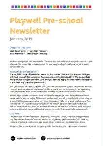 jan newsletter